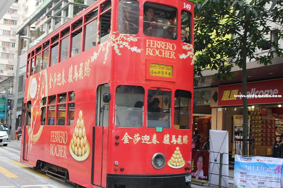 [香港電車] 叮叮車