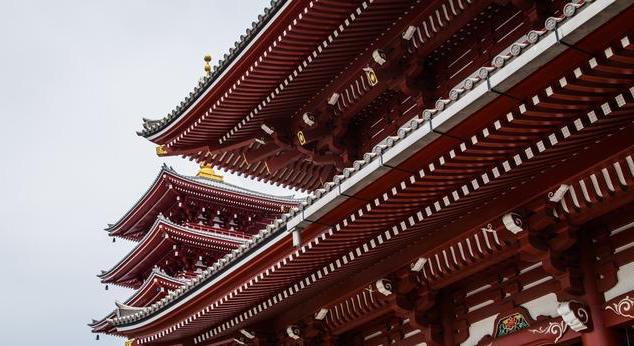 東京著名的淺草寺~壯觀!