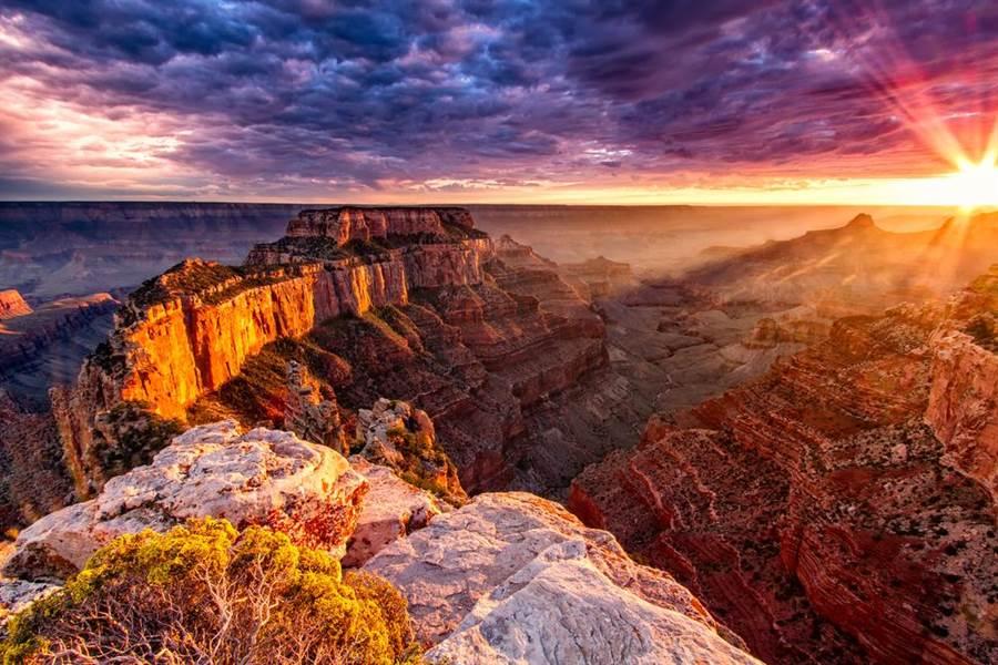 世界七大奇觀!令人心生敬畏的「美國大峽谷」