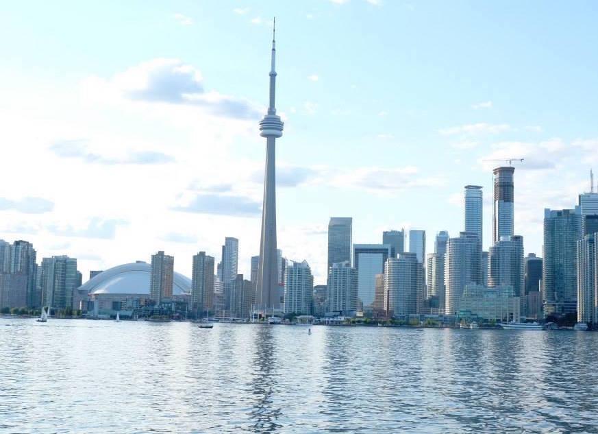 加拿大 – 多倫多地標:CN Tower觀景台