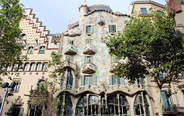 巴塞隆納,高第的傑作之三~巴特婁之家 Casa Batlló