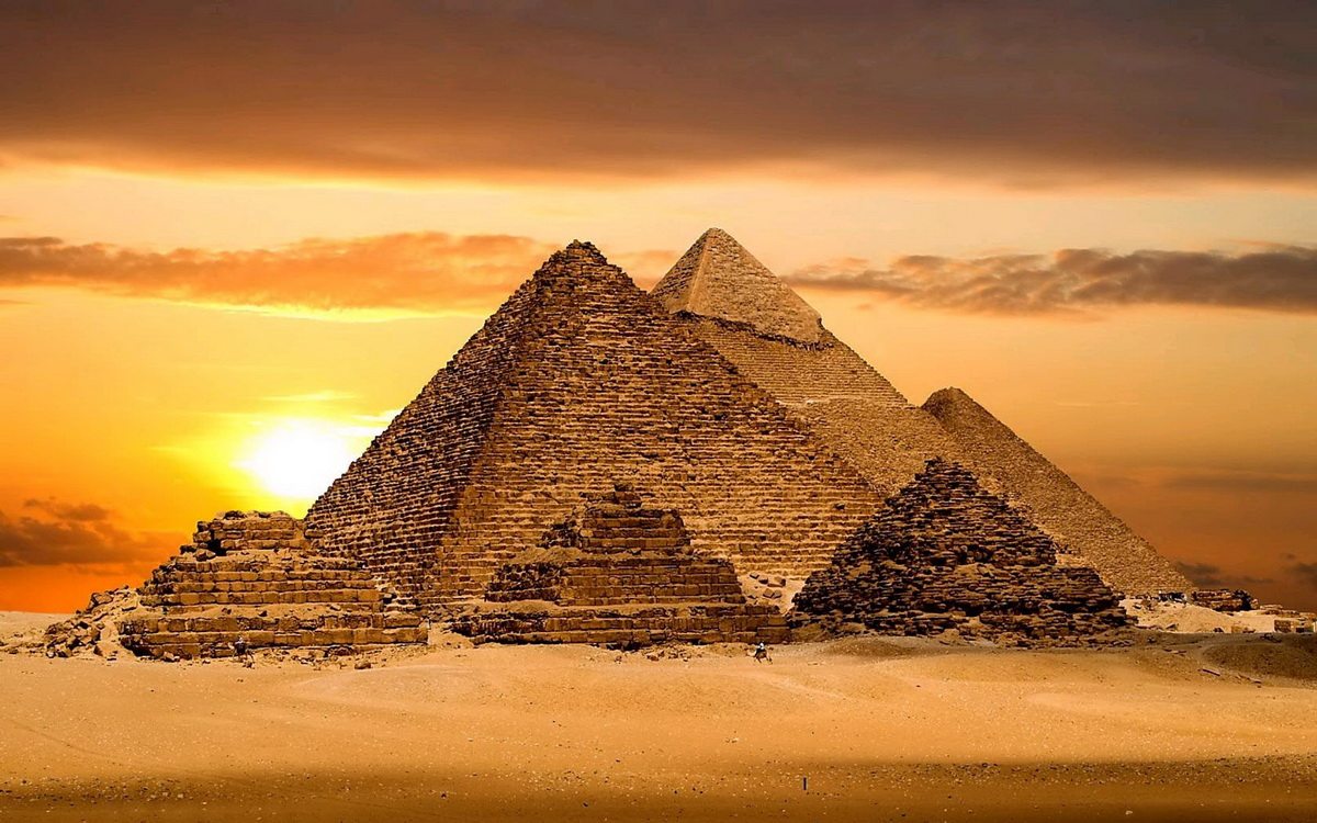 埃及必去~吉薩金字塔  世界七大奇蹟之一