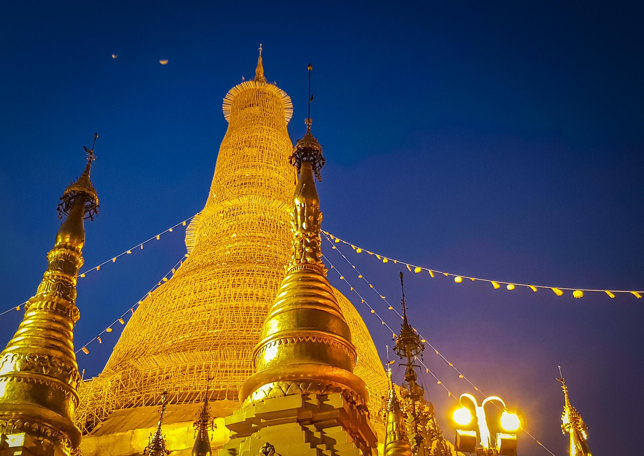 緬甸 – 仰光2日行 Day 1 仰光大金塔