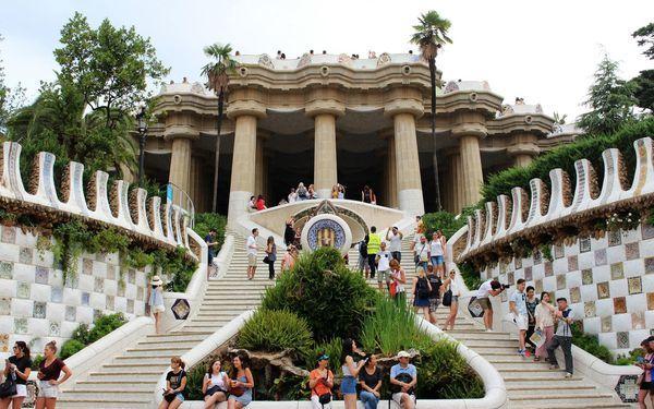 巴塞隆納,高第的傑作之四~奎爾公園 Park Güell