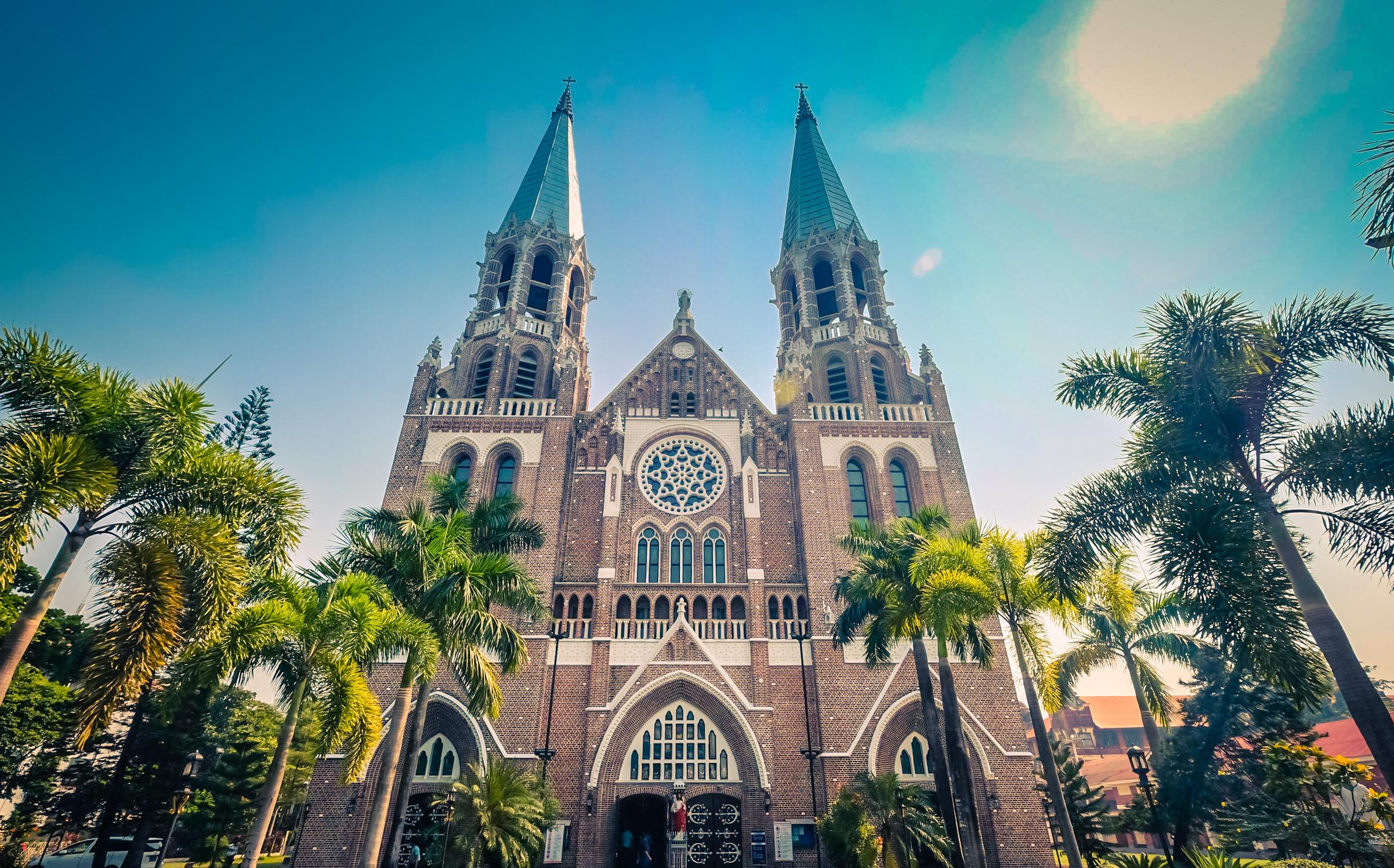 緬甸 – 仰光2日行 Day 2 聖瑪麗大教堂&水上巴士