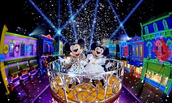 香港迪士尼 聖誕慶典