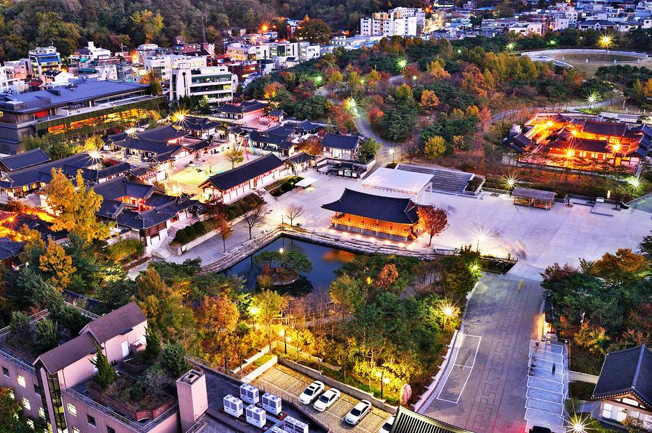 南山谷韓屋村 感受傳統韓國風情