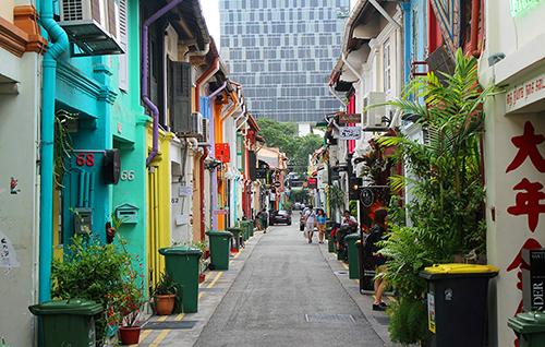 屬於新加坡的地道小巷:哈芝巷Haji Lane