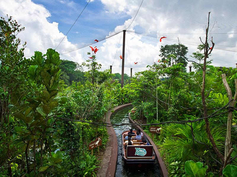 新加坡河川生態園門票(含亞馬遜河探索&生態遊船)