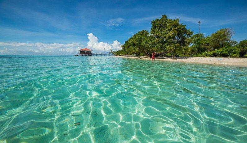 不會潛水就看不到海底美景?在仙本那「曼達布安島」浮潛也能看到小魚群風暴!