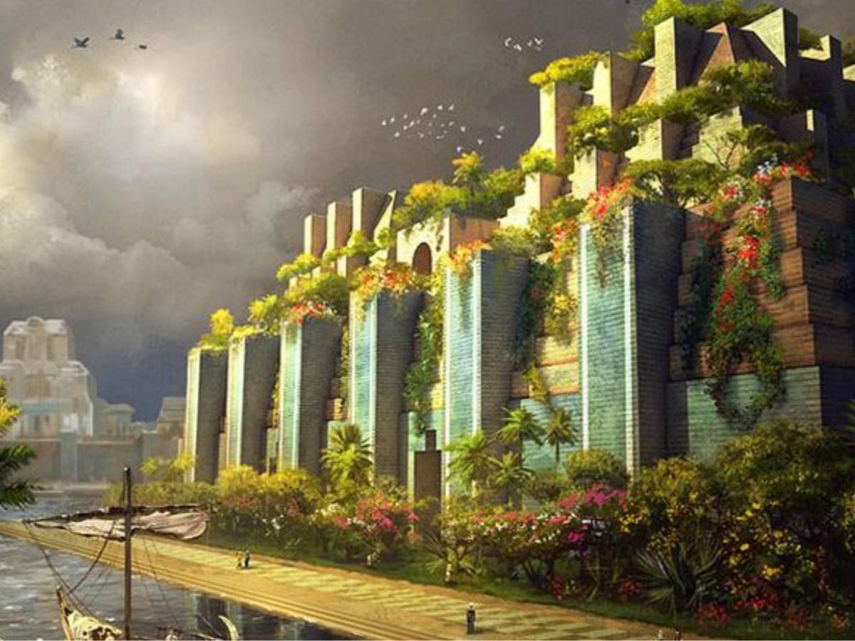 世界奇跡的空中花園,建造的原因竟只是為奪美人一笑!