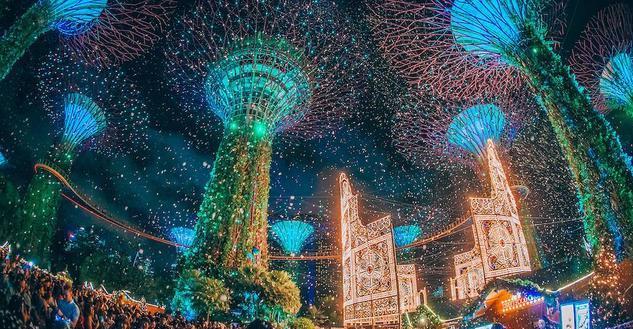 沒有白雪銀裝的新加坡,是怎樣過出聖誕節的精彩