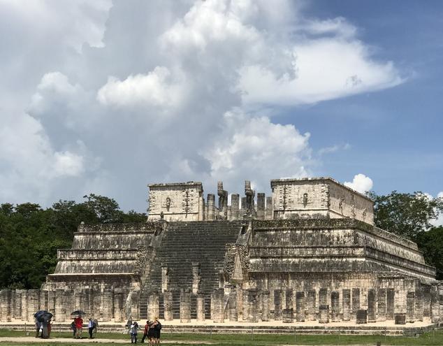獨行墨西哥之奇琴伊察,高度瑪雅文明又神秘血腥